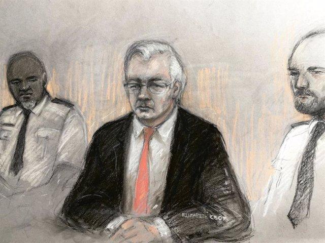 Wikileaks.- Assange presenta nuevos argumentos contra su extradición a EEUU