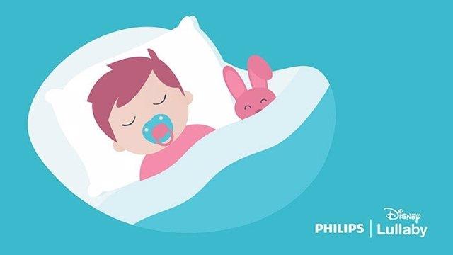 El acuerdo de colaboración ofrece las canciones de cuna relajantes de Disney a través de las aplicaciones Pregnancy+ y Baby+ de Philips Avent.