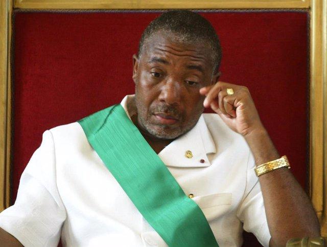 El expresidente de Liberia Charles Taylor