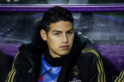 El Real Madrid traspasa a James al Everton