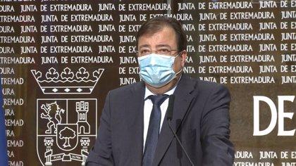 """Vara cree que el del regadío de Tierra de Barros es un proyecto """"clarísimamente ejecutable"""" con el Fondo Covid de la UE"""