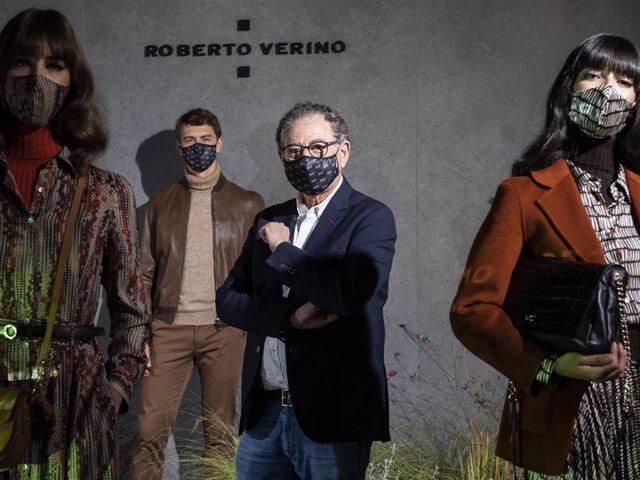 Roberto Verino ha presentado su nueva colección y se muestra optimista con el futuro del sector