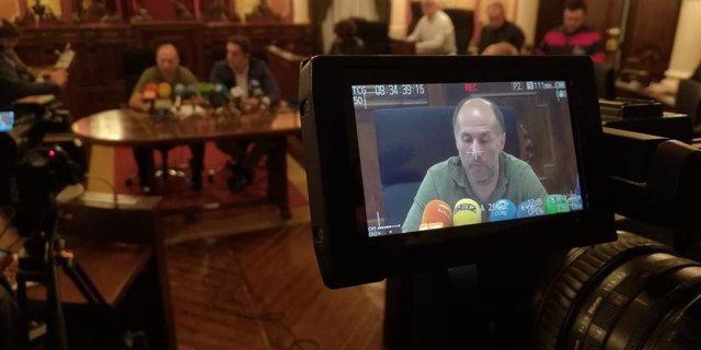 El alcalde de Ourense, Gonzalo Pérez Jácome, hace balance de los 100 días de gobierno.