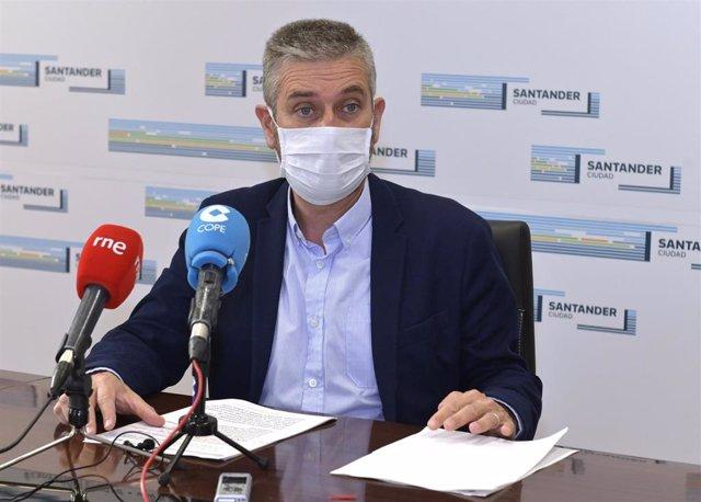 Javier Ceruti, portavoz de Cs en Santander