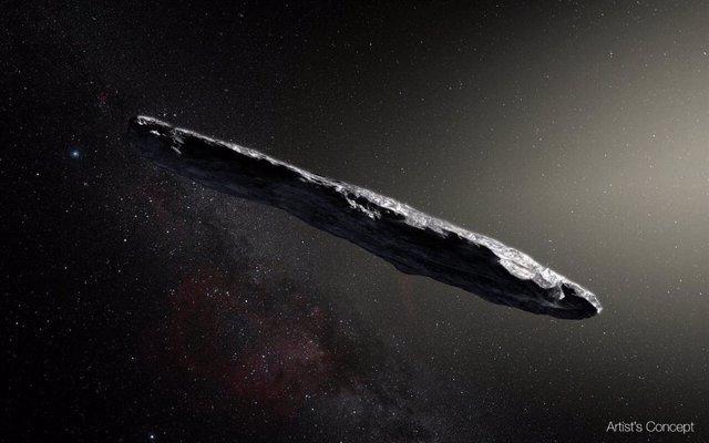 Un 'conejito de polvo', nueva explicación para el objeto interestelar 'Oumuamua