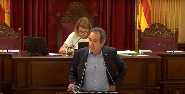 El diputado de Cs en el parlament, Juanma Gómez