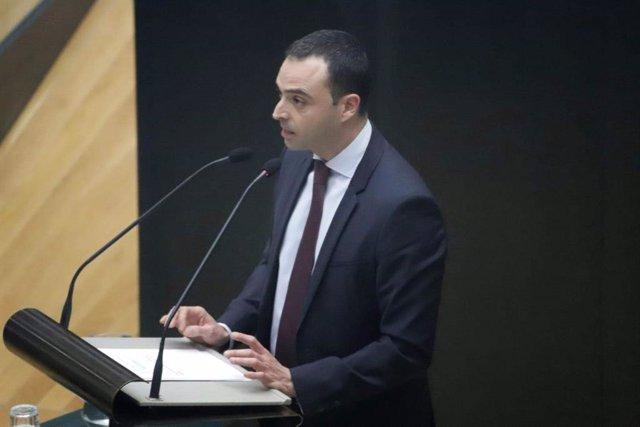 Alfredo González, portavoz socialista de Medio Ambiente y Movilidad en el Ayuntamiento de Madrid