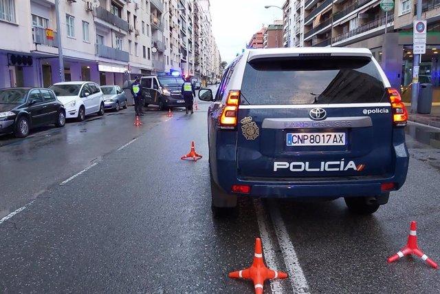 Sucesos.- Detenidos 8 trinitarios por asaltar a un conductor en Retiro e intenta