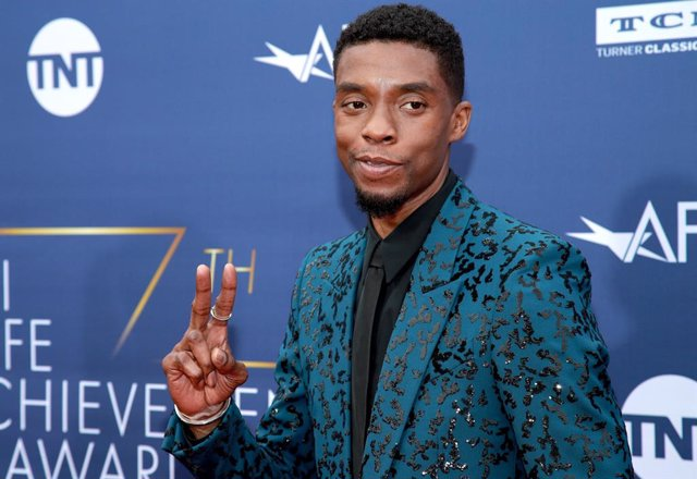 Chadwick Boseman attends the 47th AFI Life Achievement Award honoring Denzel Washington at Dolby Theatre on June 06, 2019
