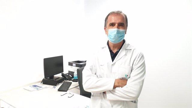 Doctor José Daniel Alcázar, jefe del Servicio de Neumología del Hospital Quirónsalud Málaga