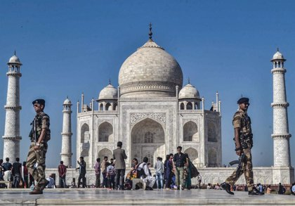 India.- El Taj Mahal reabrirá el 21 de septiembre pese a que India es ya el segundo país con más contagios