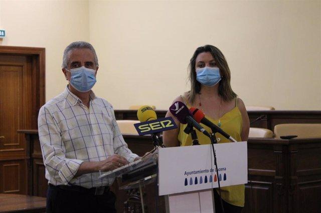 Alcalde de Lucena en rueda de prensa este martes