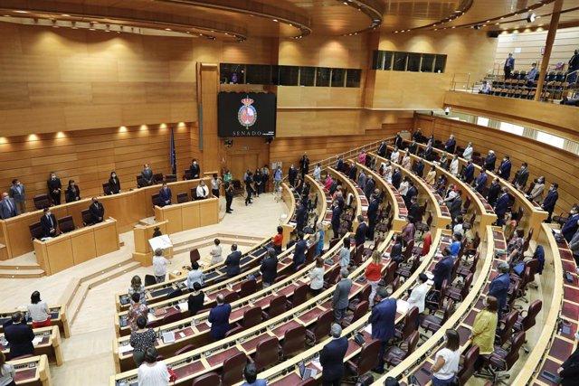 Hemicicle del Senat. Madrid (Espanya), 8 de setembre del 2020.