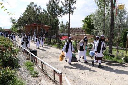 Afganistán.- Los talibán dicen que el Gobierno de Afganistán no ha finalizado el proceso de liberación de presos
