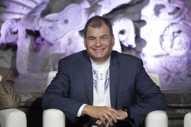 """Ecuador.- Rafael Correa confía en que su partido va a """"arrasar"""" en las eleccione"""