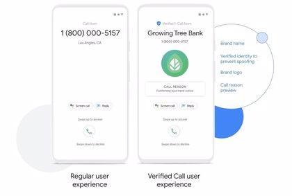 Portaltic.-Teléfono de Google incorpora la función de llamadas verificadas, que incluye el motivo de cada llamada