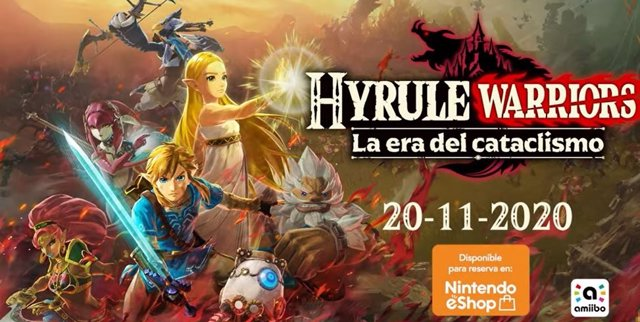 'Hyrule Warriors: La era del cataclismo', de la saga Zelda, llegará a Switch el