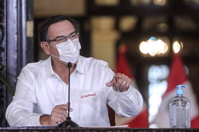 """Coronavirus.- El presidente de Perú pide unidad a la población y """"seguir luchand"""
