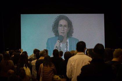 """Marta Rovira (ERC) defiende el referéndum como """"la mejor vía posible"""" hacia la independencia"""