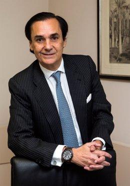 Presidente de la AELR, José Coronel de Palma