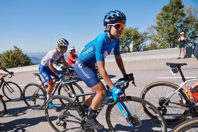 Ciclismo.- Aalerud y Patiño, bazas del Movistar femenino en su tercer Giro