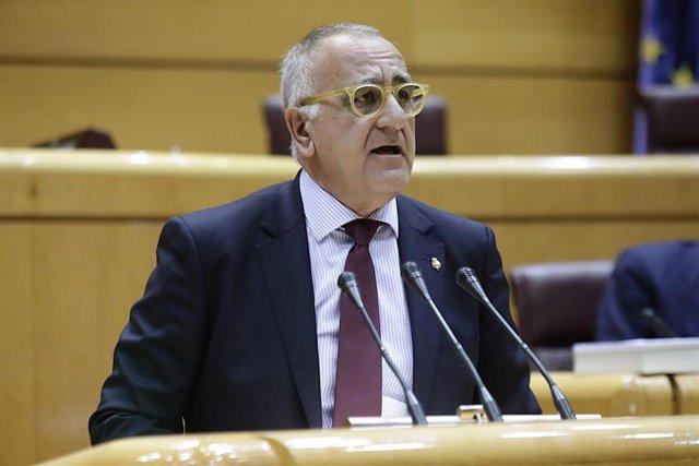 El senador del Partido Aragonés (PAR), Clemente Sánchez-Garnica.