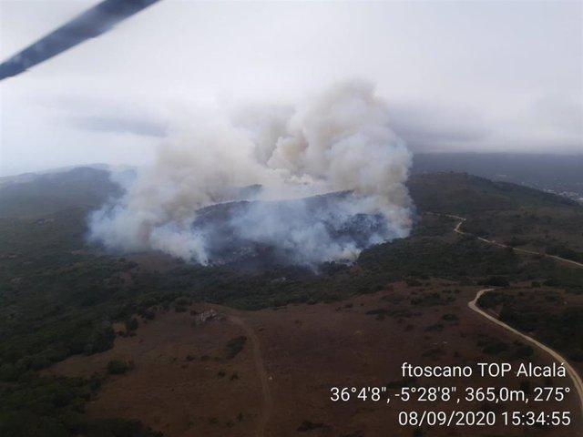 Incendio forestal de Algeciras