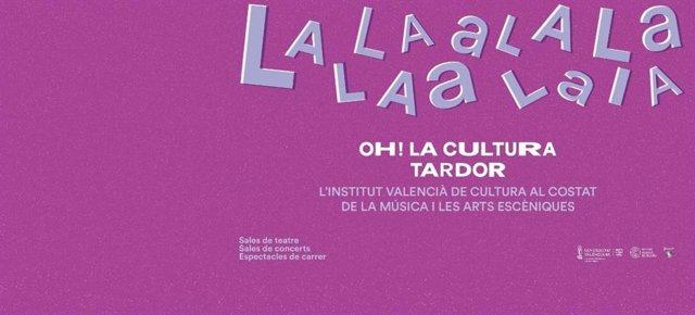 Cartel Oh! La Cultura Tardor