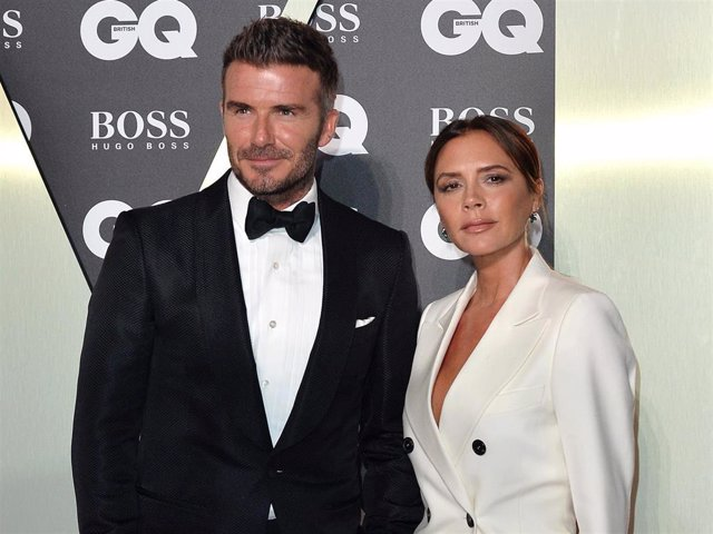 David Beckham And Victoria Beckham Attend The GQ Men Of The Year Awards 2019 At Tate Modern On September 03, 2019 In London, England