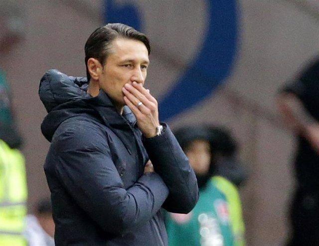 Niko Kovac durante un partido como entrenador del Bayern