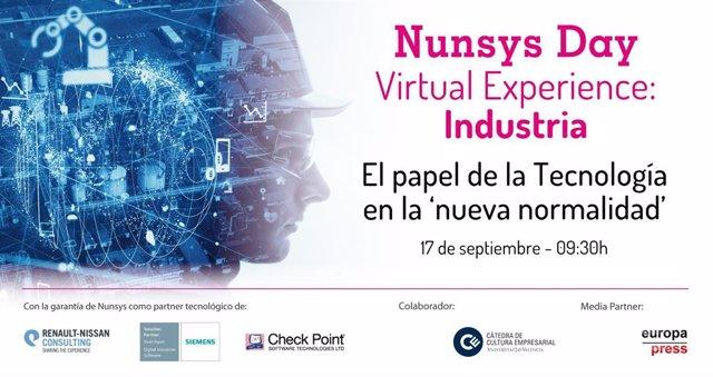 Nunsys organiza un encuentro online para analizar el papel de la tecnología en l