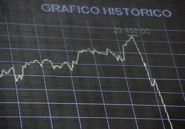 Valores en la Bolsa de Madrid (España), a 4 de septiembre de 2020