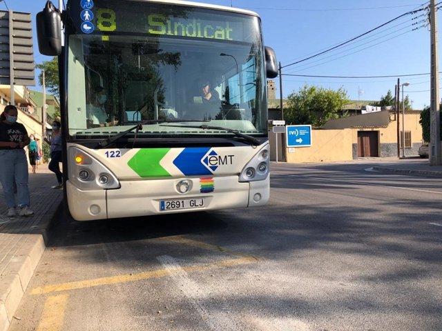 Autobús de la EMT de Palma en una imagen de archivo