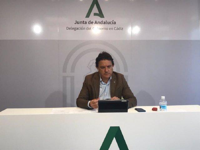 Daniel Sánchez, delegado de Agricultura, Ganadería, Pesca y Desarrollo Sostenible de la Junta en Cádiz