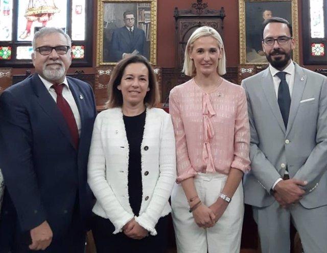 Regidores de Cs en el Ayuntamiento de Palma.