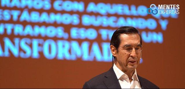 El doctor Mario Alonso Puig, profesor de cirugía de la Harvard University Medical School, participa en unas jornadas