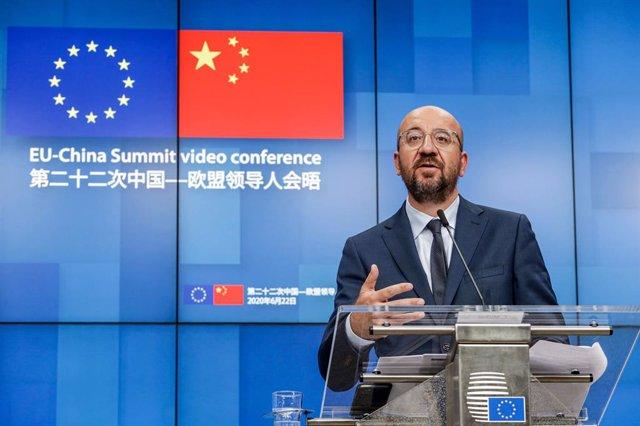 China.- La UE mantendrá una cumbre virtual con China el próximo 14 de septiembre