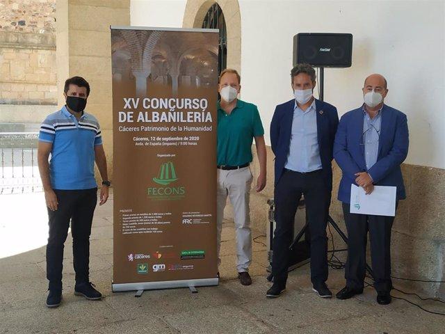 El XV Concurso de Albañilería de Cáceres reduce el número de cuadrillas para mantener la seguridad