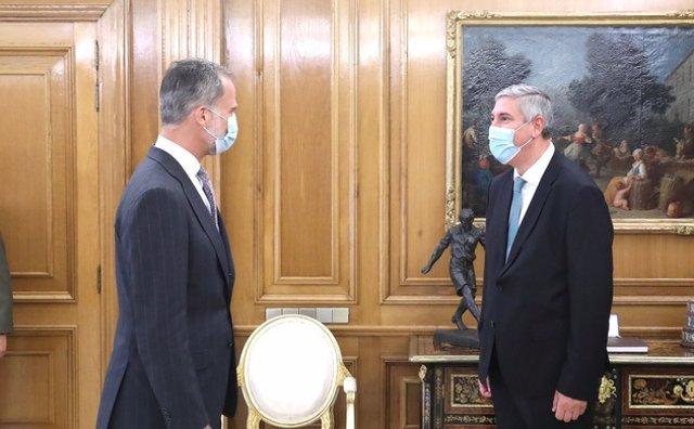 Economía/Motor.- Anfac se reúne con el Rey para presentarle las líneas estratégi