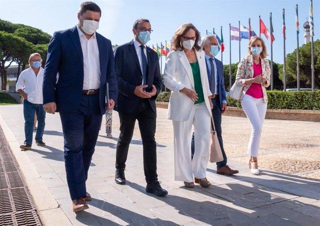 Huelva.- Diputación y la Secretaría Iberoamericana acuerdan colaborar ante los O