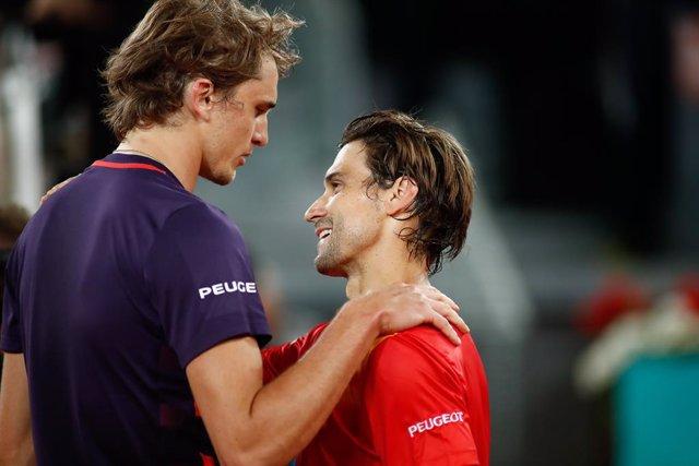 """Tenis/US Open.- David Ferrer: """"Zverev dará un paso adelante y jugará más agresiv"""