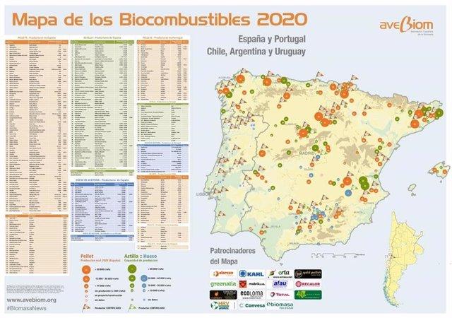 España cuenta con 169 plantas de biocombustibles sólidos con capacidad de fabric