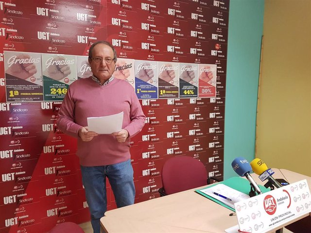El secretario de Salud Laboral, Acción Sindical y Medio Ambiente de UGT Córdoba, Jaime Sarmiento, en una imagen de archivo.