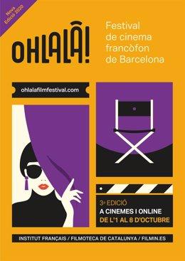 Cartel del Ohlalà! Festival, que tendrá formato físico y online