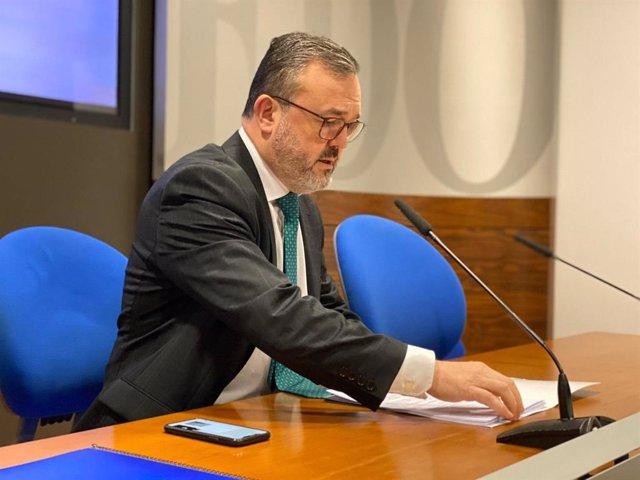 Concejal de Hostelería, Turismo y Congresos, Alfredo García Quintana.