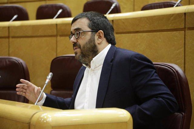 El senador autonómico, Vicenç Vidal, de MÉS per Mallorca.