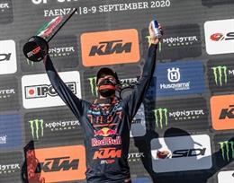 Motor.- El español Jorge Prado conquista su primer Gran Premio de MXGP