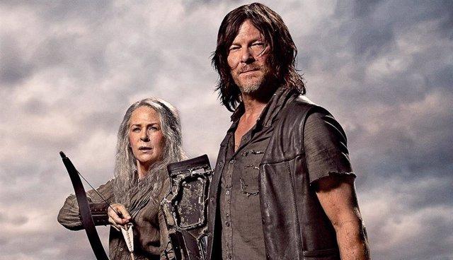 Daryl y Carol, personajes de The Walking Dead