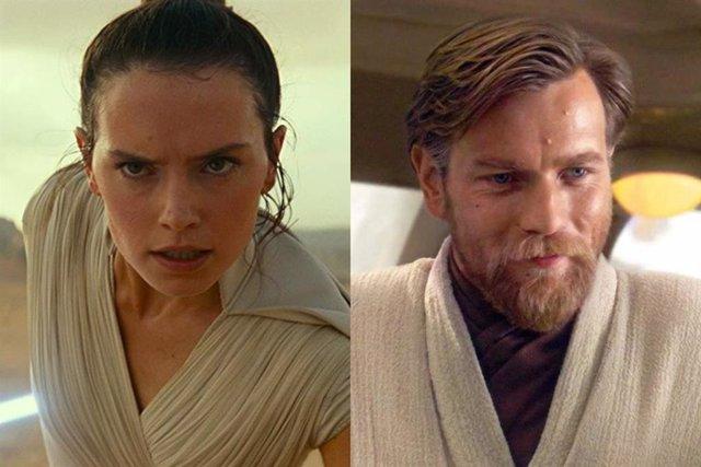 Daisy Ridley revela que Rey iba a ser familia de Obi-Wan Kenobi