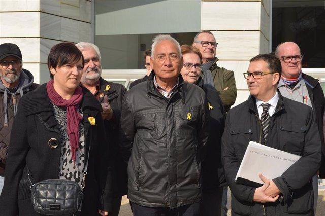 Anna Llauradó, Enric Sirvent y Jaume Alonso Cuevillas (ARCHIVO)